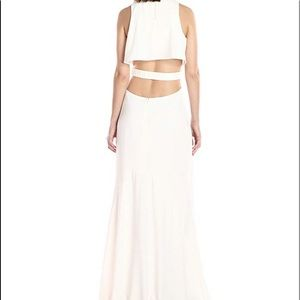 Halston Heritage Dresses - NWT Halston Hertigage Chalk Dress